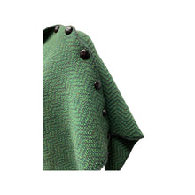 Load image into Gallery viewer, Green Carraigdon Poncho, Small
