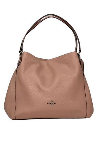 Blush Coach-NWT Leather Handbag