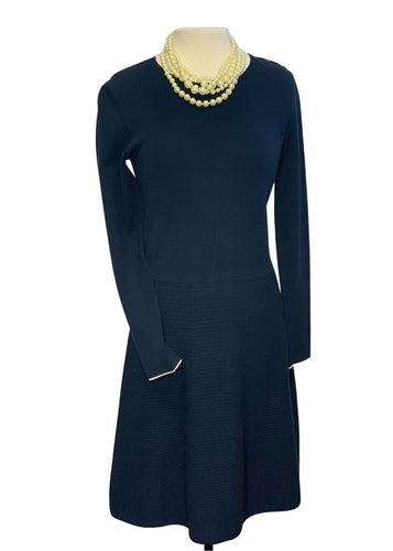 Navy Banana Republic Knit Dress, M