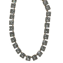 Load image into Gallery viewer, Clear J Crew Rhinestone Necklace, OS