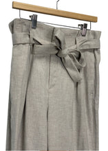 Load image into Gallery viewer, Taupe Banana Republic Wide-leg Linen Pants, 10