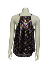 Load image into Gallery viewer, Multi Amanda Uprichard- NWT N/S Sequin Top, M