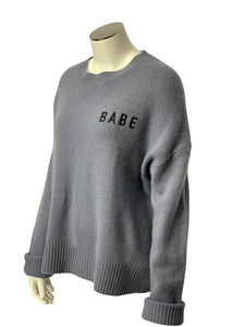 Grey 360 Cashmere L/S Cashmere Sweater, S