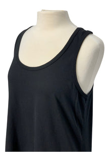 Black Anthropologie Left of Center N/S Tank Dress, M