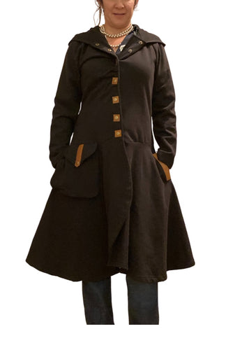 Black Avatar Coats, M