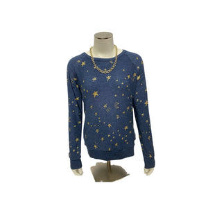 Blue Chaser Longsleeve Sweater NWT, Small