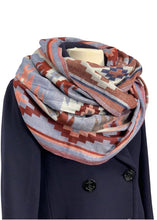 Load image into Gallery viewer, Multi Raj Infinity Scarf, OS