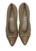 Load image into Gallery viewer, Nude AGL- Attilio Giusti Leombruni Block Heel Pumps, 41/10.5/11