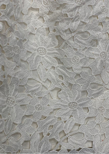 Ivory Ann Taylor Loft Lace Embrodery Skirt, 4