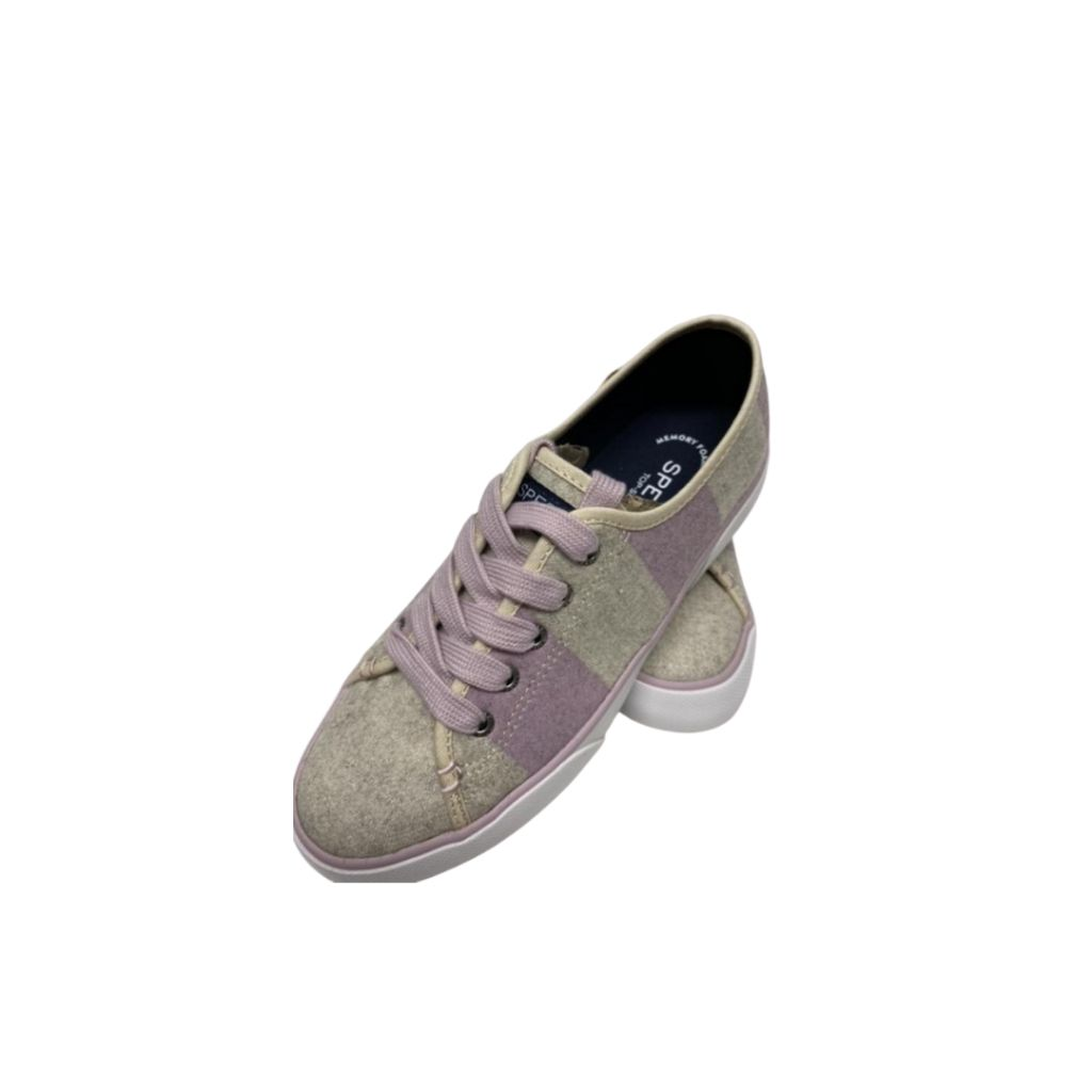 Pink & Gray Sperry Tennis Shoes NWT, 6.5