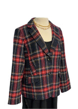 Load image into Gallery viewer, Plaid Talbots Plaid Blazer, 14