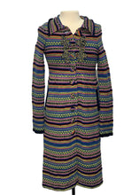 Load image into Gallery viewer, Multi Sleeping on Snow- Anthropologie Long Cardigan Sweater, M