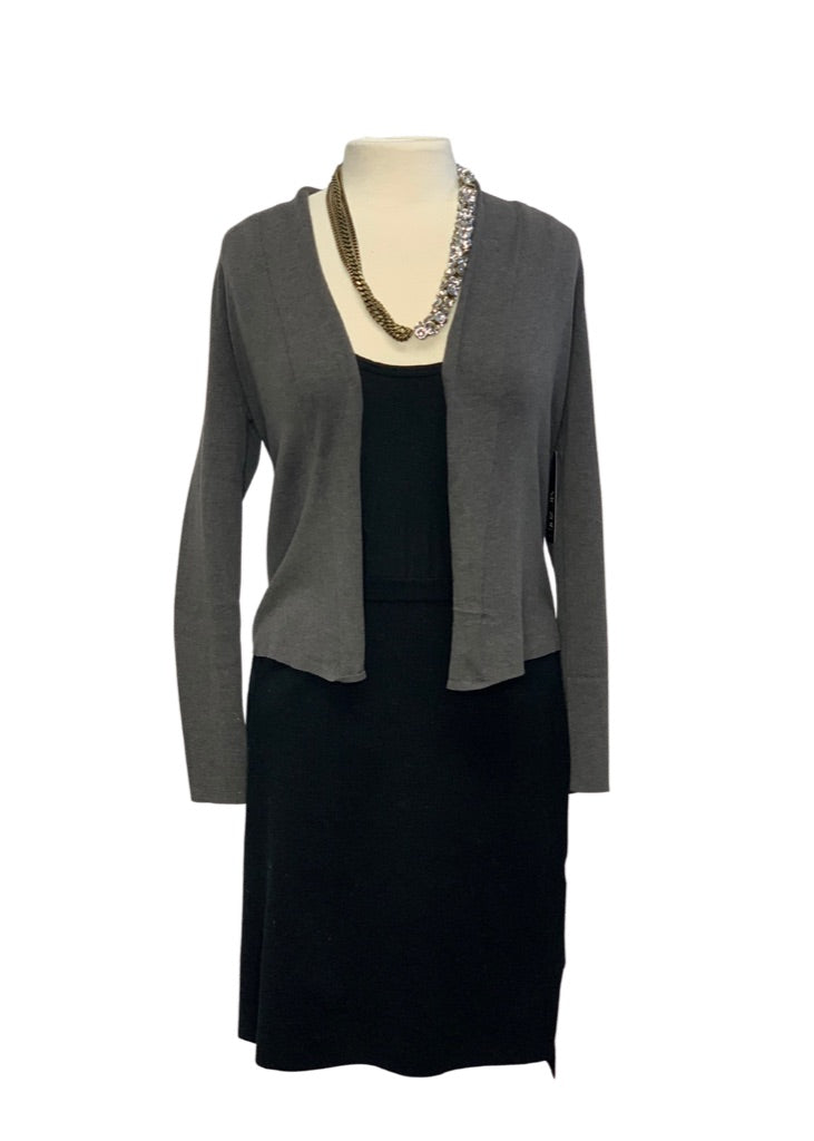 Grey Nic+Zoe- NWT L/S Cardigan Sweater, S