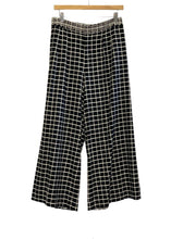 Load image into Gallery viewer, Black Elevenses- Anthropologie Cropped Wideleg Pants, 8?