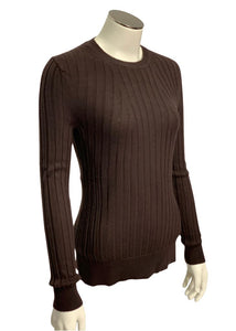 Brown Banana Republic L/S Merino Wool Sweater, S