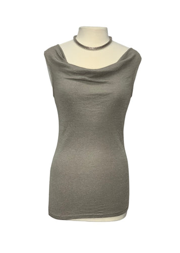 Silver Michael Stars Sleeveless Top, OS