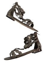 Load image into Gallery viewer, Silver Sam Edelman Desi Gladiator Sandals- NWOT, 9.5