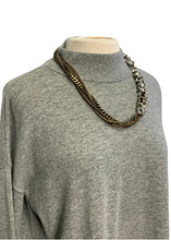 Load image into Gallery viewer, Grey Banana Republic L/S Oversized Sweater, M