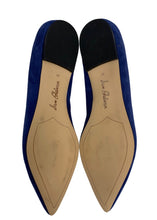 Load image into Gallery viewer, Blue Sam Edelman Suede Flats, 10