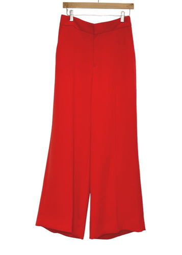 Red Banana Republic Wide-leg Dress Pants, 8