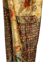 Load image into Gallery viewer, Yellow Zara Printed Silky Pants, S