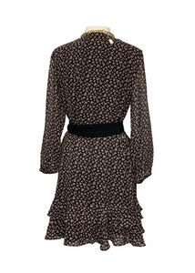 Black Ann Taylor Loft L/S Dress, L