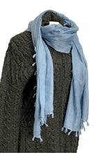 Load image into Gallery viewer, Blue Unknown Scarf, OS