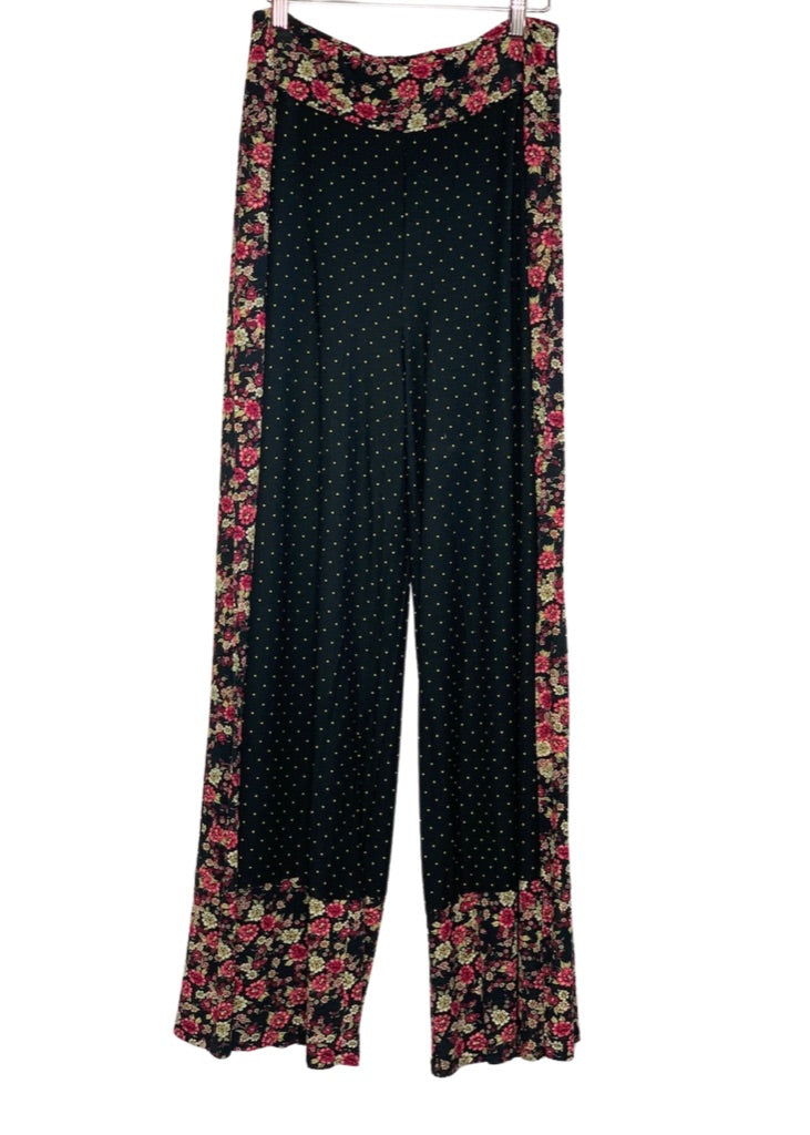 Black Farm Rio Anthropologie Wide Leg Palazzo Pants, M