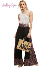 Load image into Gallery viewer, Black Farm Rio Anthropologie Wide Leg Palazzo Pants, M
