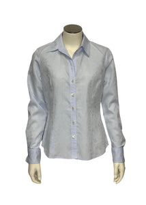 Baby Blue Banana Republic L/S Button up, XS