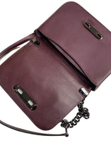 Load image into Gallery viewer, Oxblood Coach Chain Crossbody, Small