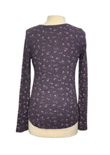 Load image into Gallery viewer, Purple Michael Stars L/S Thermal Tee, S
