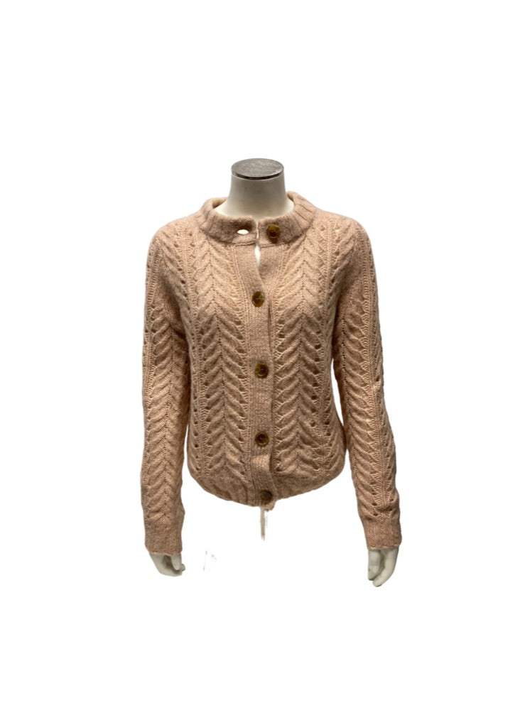 Pink Beige J Crew Point Sur Sweater, XS