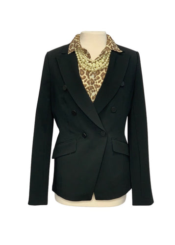 Black Banana Republic L/S Blazer, 8T