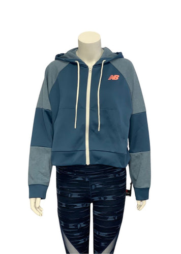Blue New Balance- NWT Full Zip Jacket, M