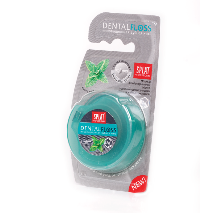 SPLAT Extra Mint Dental Floss 30m