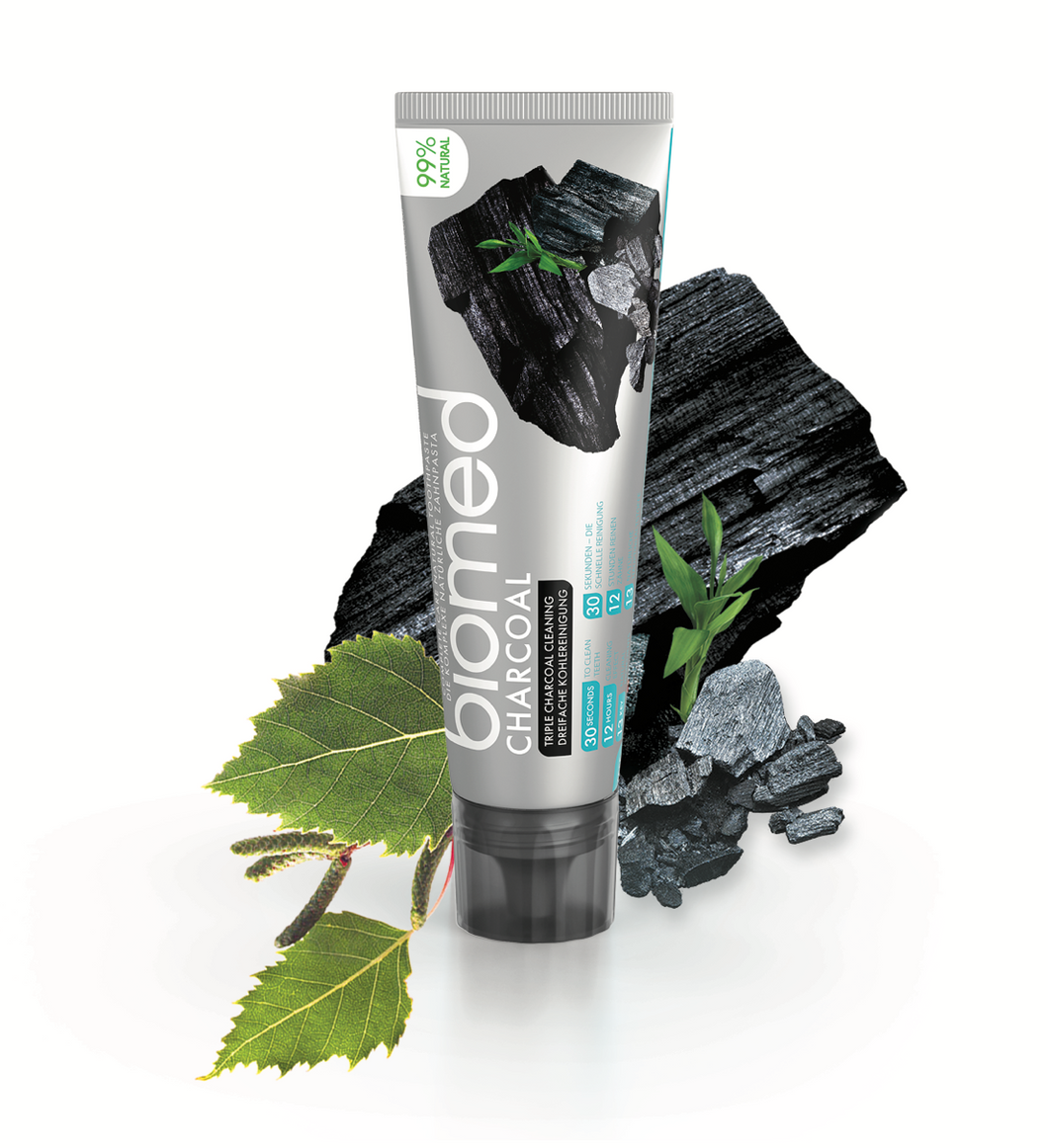 SPLAT Biomed Charcoal Toothpaste