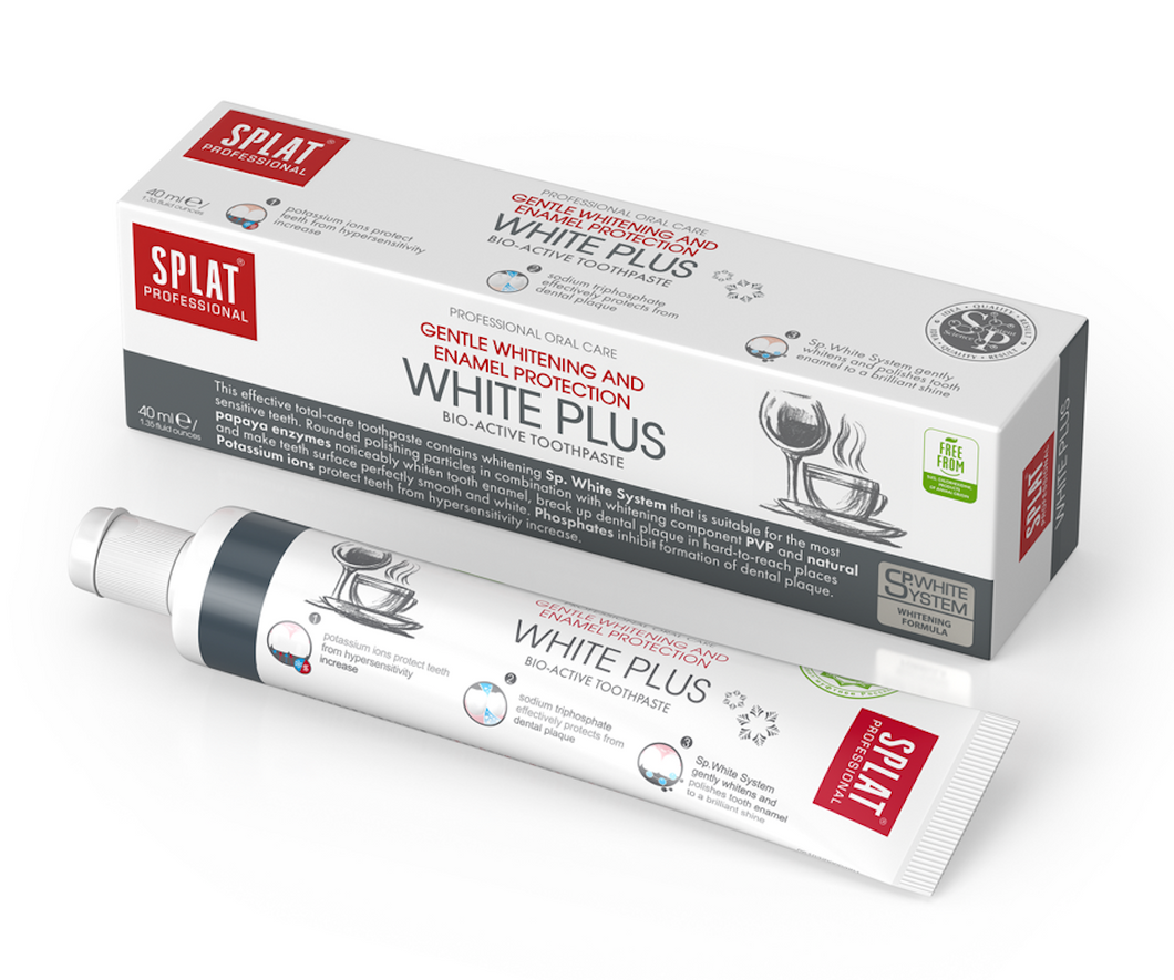 SPLAT White Plus Toothpaste (40ml)