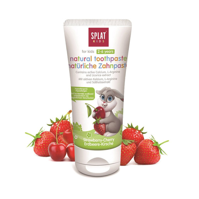 SPLAT Cherry-Wild Strawberry Toothpaste
