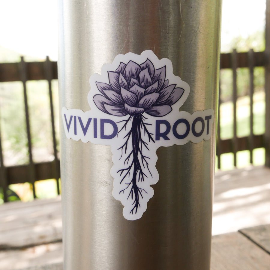 Logo Sticker - Vivid Root