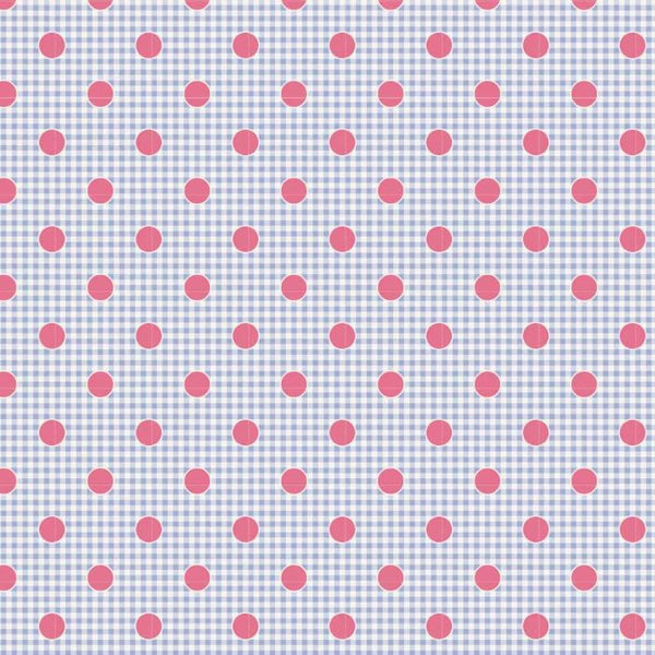 1/2 yard Tilda Gingdot Blue from Happy Campers Collection by Tone Finnanger | # TIL100224