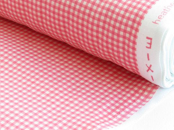 1/2 yard Trixie Pink Gingham by Heather Ross Collection for Windham Fabric | #50900