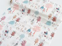 1/2 yard Meeting Place Brightday Designed by AGF Studio | Little Clementine Collection | LCT-15509
