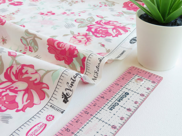 1/2 yard Nostalgic Romance Designed by AGF Studio | Capsules - Le Vintage Chic Collection | CAP-VC-5000