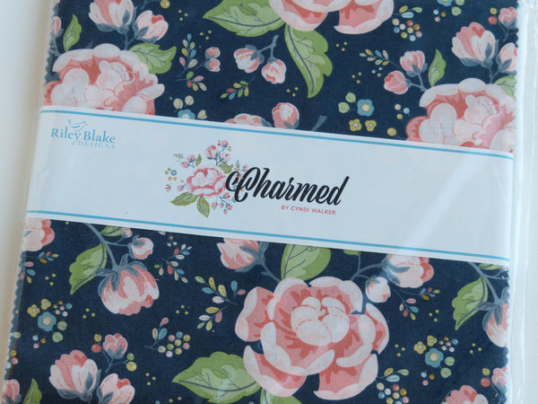 "Charmed 10"" Stacker Bundle for Riley Blake Designs 