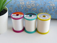Cotton + Steel by Sulky 50wt. 660 yards Cotton Thread Set - Set of 3 - Basic