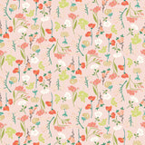 1/2 yard Midsummer Meadow Main Cream by Katherine Lenius for Riley Blake Designs | C9810-BLUSH