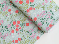 1/2 yard New Dawn Rose Garden Blush by Citrus & Mint Designs for Riley Blake Designs | C9851-MINT