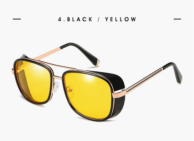 Brand Designer Retro Vintage Sunglasses Punk UV400