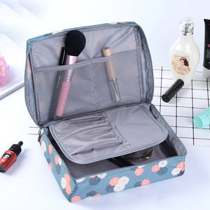 Multifunction travel Cosmetic Bag Women Makeup Bags Toiletries Organizer Waterproof Female Storage Make up Cases